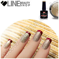 216 VB Line Glitter Oro UV/LED Soak Off Gel Unghie Smalto Colorato