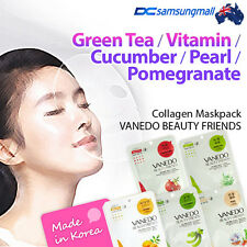 Vanedo Beauty collagen Face facial mask pack from korean x 5 sheets // free ship