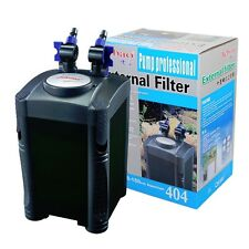 100 Gallon Aquarium Fish Tank External Canister Filter + Media Kits Self Priming