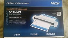 Brother DSMobile 620 Portable Color Page Scanner DS-620 - New In Box