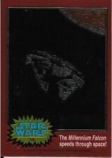 1999 Topps Star Wars Chrome Archives #13 The Millennium Falcon Speeds Through
