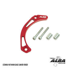 Suzuki LTZ 400 LTZ400  Case Saver  Billet Aluminum  Red   Alba Racing  206-T6-R