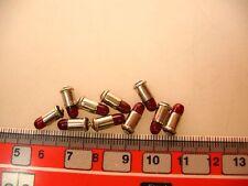 10x Steck-Birne 19 V rot für Märklin 4028,7079,7188 etc #LA2
