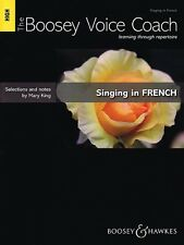 The Boosey Voice Coach: Singing in French (High Voice) BH11942