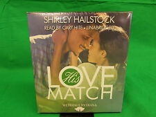 His Love Match (Weddings by Diana series, Book 1) Audio CD by Shirley Hailstock