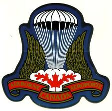 Canadian Airborne Decal  - Airborne Regt Badge Design