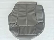 "00-02TAHOE,SUBURBN,SILVERADO LEATHER DRIVER SEAT COVER-PEWTER ""GRAY""#122/12i"