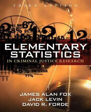 Elementary Statistics in Criminal Justice Research (3rd Edition)-ExLibrary