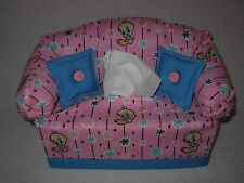 COUCH SOFA TISSUE BOX COVER - TWEETY
