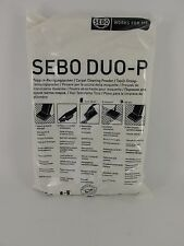 Sebo duo-P Carpet Cleaning Powder Refill 500g Janitorial Stain removal Genuine