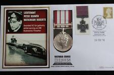 2010 FULL SIZE CAMPAIGN MEDAL PNC VICTORIA CROSS HEROES PETER SCAWEN ROBERTS VC