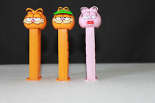 Pez  Candy Dispensers LOT ~ Garfield ~ Arlene