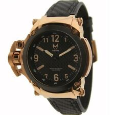 Meister Commander With Carbon Fiber Band Watch (rose gold)