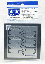 Tamiya #74097 Fine Craft Saws II (For Scribing/Line Carving) Craft Cutting Tools