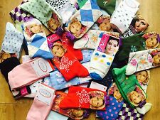 20 pairs luxury ladies womens coloured design socks cotton blend size 4-7  YJHGB
