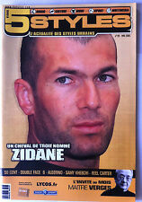Five Style n°29 du 05/2005; Interview Zidane/ 50 Cent/ Double Face 6/ Algerino