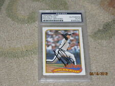 Nolan Ryan AUTOGRAPHED Trading Card PSA Certified 5