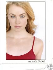 AMANDA SCHULL glamour agency headshot Photo 12 MONKEYS , SUITS , ONE TREE HILL =