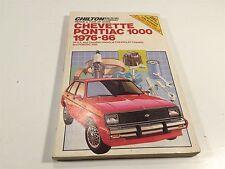 1976-1986 Chevette Pontiac 1000 Chilton 6836 Repair & Tune-Up Guide
