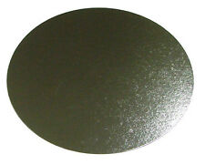 """50 x 14"""" Inch Round Silver Cake Board 3mm DOUBLE THICK"""
