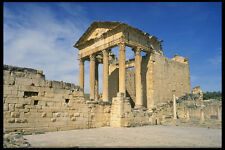 525057 Capitoleum In The Old Roman City Dougga Tunisia A4 Photo Print
