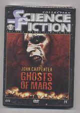 NEUF DVD GHOSTS OF MARS FILM SOUS BLISTER SCIENCE FICTION JOHN CARPENTER