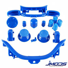 Xbox 360 Custom ABXY Guide Thumbsticks RT LT RB LB Sync Bumpers Mod Kit(Blue)