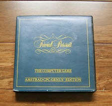 TRIVIAL PURSUIT The Computer Game - Amstrad CPC Genus Edition