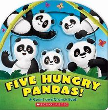 Five Hungry Pandas!: A Count and Crunch Book ( Barad-Cutler, Alexis ) Used -