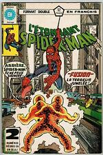 FRENCH COMIC FRANÇAIS EDITION HERITAGE   SPIDER MAN  #  111 / 112  SP