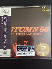 Autumn '66 - The Spencer Davis Group SHM Mini LP Style CD NEU Japan UICY-77895