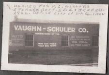 1922 VAUGHN-SCHULER BATTERY STORAGE LOS ANGELES CALIFORNIA JEFFERSON ST. PHOTO