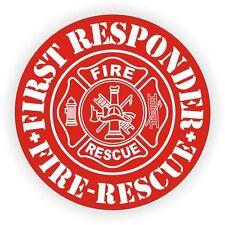 First Responder Hard Hat Decal / Helmet Sticker Firefighter Rescue Ambulance