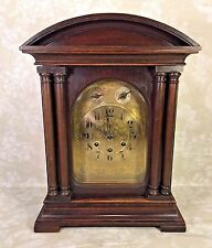 Antique Gustav Becker Bracket Clock Westminster Chimes Runs Strikes & Chimes