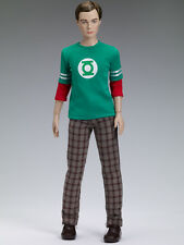 "Sheldon Cooper Special Edition Doll Tonner 17"" Matt body Big Bang Theory Ltd 100"