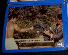 Orig FIST OF FURY BIG BOSS BRUCE LEE Country Of Origin HONG KONG Lobby Card #13