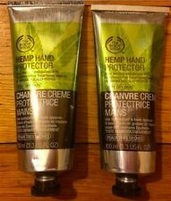 New& LOWEST PRICE! LOT of 2 The Body Shop HEMP HAND PROTECTOR CREAM 3.3OZ 100M