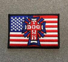 Dogtown Skateboard Patch 4in Adhesive Iron on Patch Dog Town si