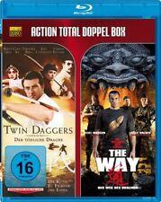 2 Actionfilme Blu-Ray - Twin Daggers & The Way - Der Weg des Drachen NEU OVP