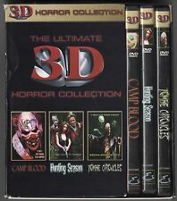 The Ultimate 3D Horror Collection Complete Dvd Box Set Camp Blood 3-D