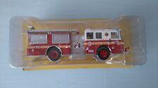 CAMIÓN TRUCK SEAGRAVE MARAUDER FIRE BOMBEROS NY USA IXO 1/43 NUEVO NEW MINT BOX