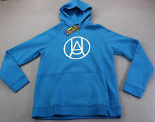 UNDER ARMOUR STORM WATER RESISTANT Mens BLUE CHARGED SWEATSHIRT HOODY NWT S  $70