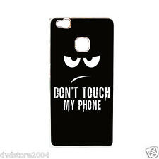 Custodia Back Cover IMD DONT'T TOUCH MY PHONE Rigida per Huawei P9 lite 5.2""