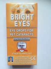 Collirio per cani e animali domestici con cataracts Ethos Bright Eyes 1 casella 10ml