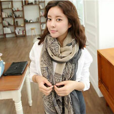 Lady Women's Long Soft New Fashion Pretty Chiffon Scarf Wrap Shawl Stole Scarves