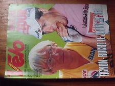 1µ??  Revue VELO n°223 Longo Guimard Mont Ventoux Special tour 1987