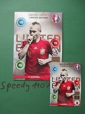 Panini Adrenalyn Euro 2016 Limited Edition XXL Iniesta classic Spain Espana
