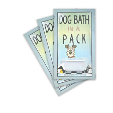 DOG BATH IN A PACK -Largest Bath and Grooming Moist Wipes in 60 Individual Packs