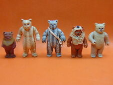 Lot of (5) 1980's Vintage Original STAR WARS ROTJ * EWOKS * Nice!