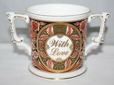 Royal Crown Derby - With Love Loving Cup - Millenium 2000 - 1st/vgc